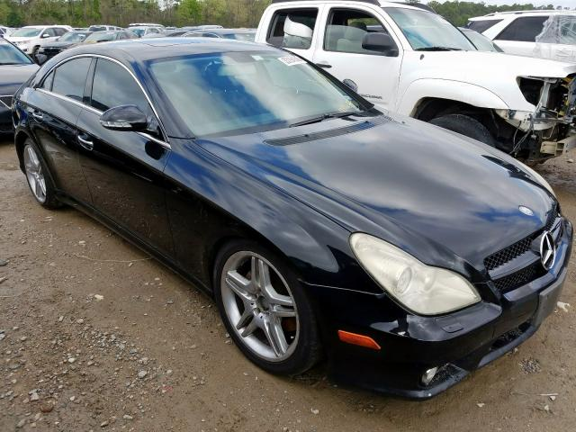 Salvage cars for sale at Houston, TX auction: 2007 Mercedes-Benz CLS 550