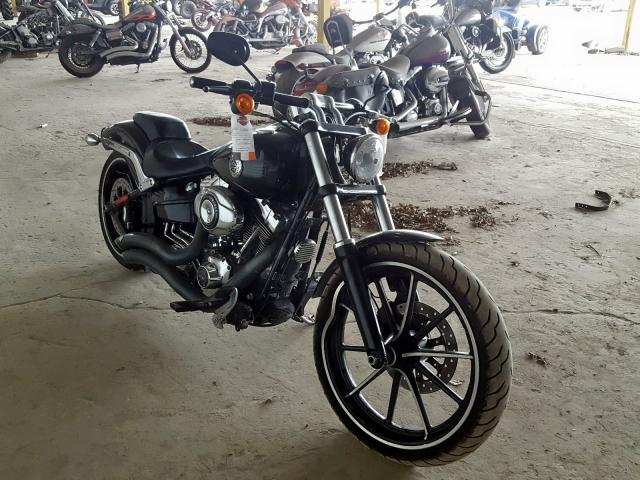 Salvage cars for sale from Copart Corpus Christi, TX: 2014 Harley-Davidson Fxsb Break