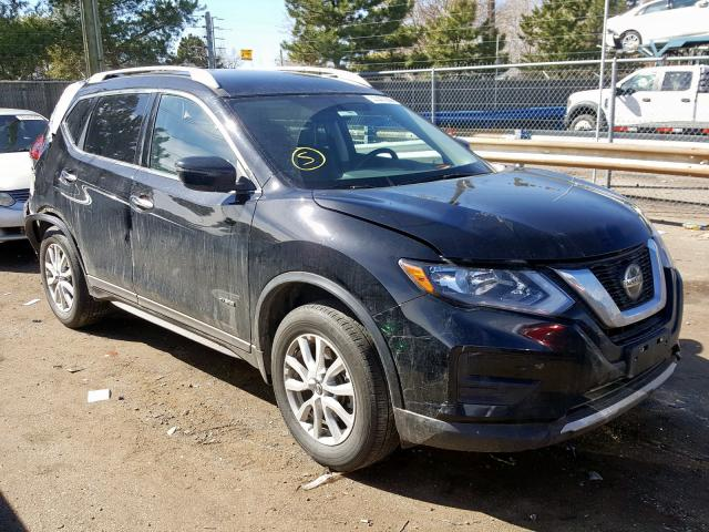 Nissan Rogue SV H salvage cars for sale: 2018 Nissan Rogue SV H