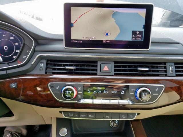 2018 Audi A4 | Vin: WA18NAF44JA035117