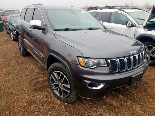 Salvage cars for sale from Copart Bridgeton, MO: 2017 Jeep Grand Cherokee