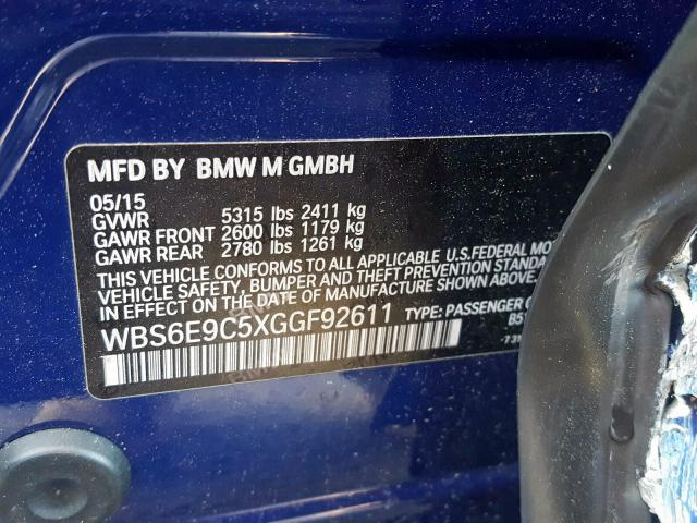 WBS6E9C5XGGF92611
