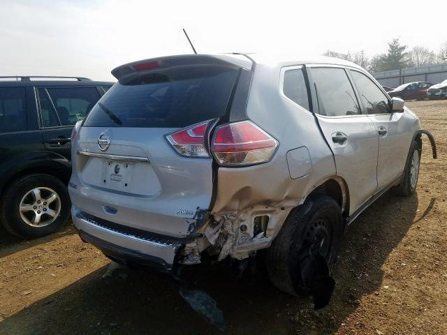 2016 NISSAN ROGUE S - Right Rear View