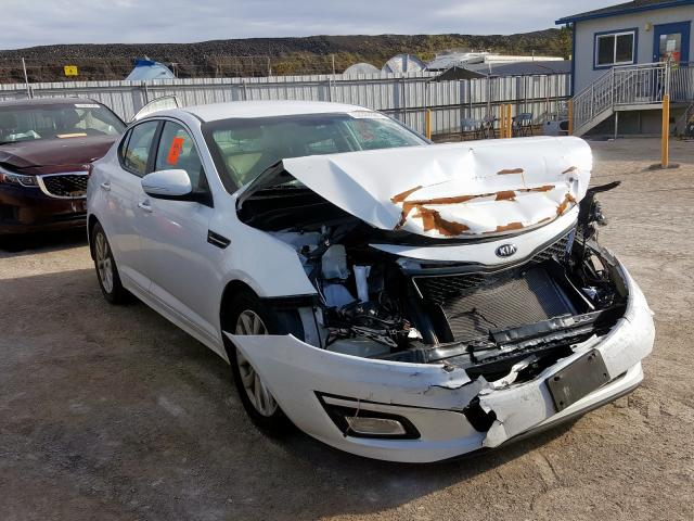KIA salvage cars for sale: 2014 KIA Optima EX
