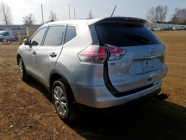 2016 NISSAN ROGUE S - Right Front View