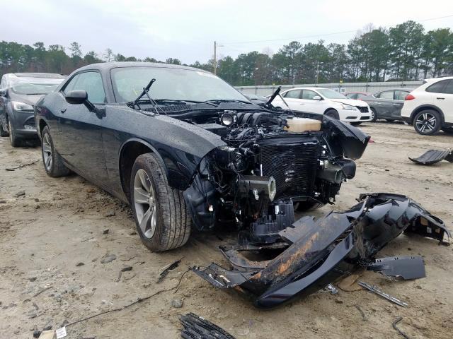 Salvage cars for sale at Ellenwood, GA auction: 2019 Dodge Challenger