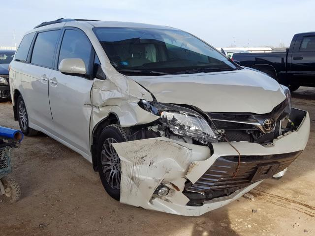 Salvage cars for sale from Copart Temple, TX: 2018 Toyota Sienna XLE