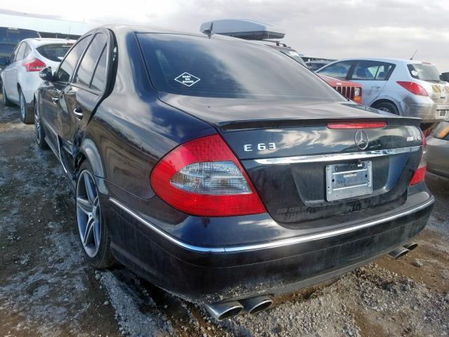2007 MERCEDES-BENZ E 63 AMG - Right Front View