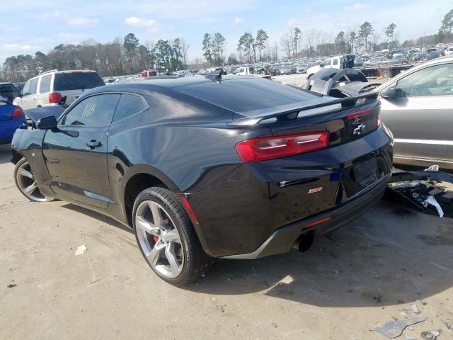 2016 CHEVROLET CAMARO SS - Right Front View