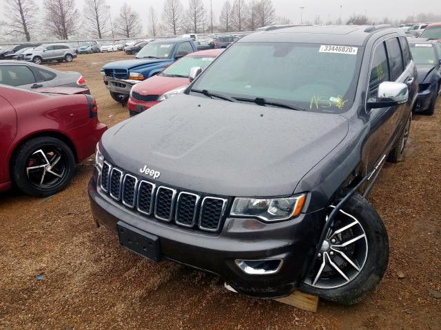 2017 JEEP GRAND CHER - Left Front View