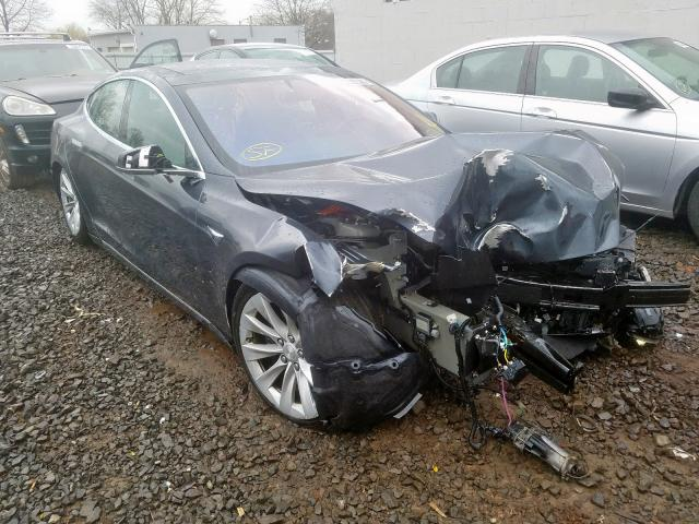 Salvage cars for sale from Copart Hillsborough, NJ: 2017 Tesla Model S