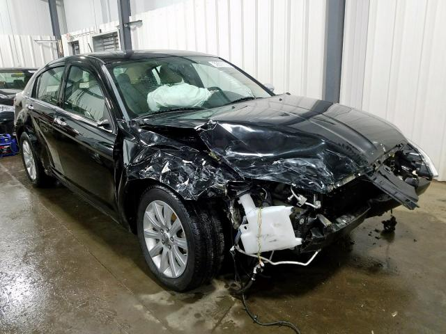 Salvage cars for sale from Copart Ham Lake, MN: 2014 Chrysler 200 Limited