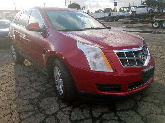 Cadillac SRX Luxury salvage cars for sale: 2011 Cadillac SRX Luxury