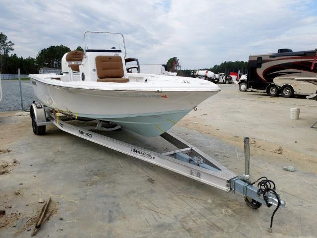 Sea Pro salvage cars for sale: 2019 Sea Pro Boat