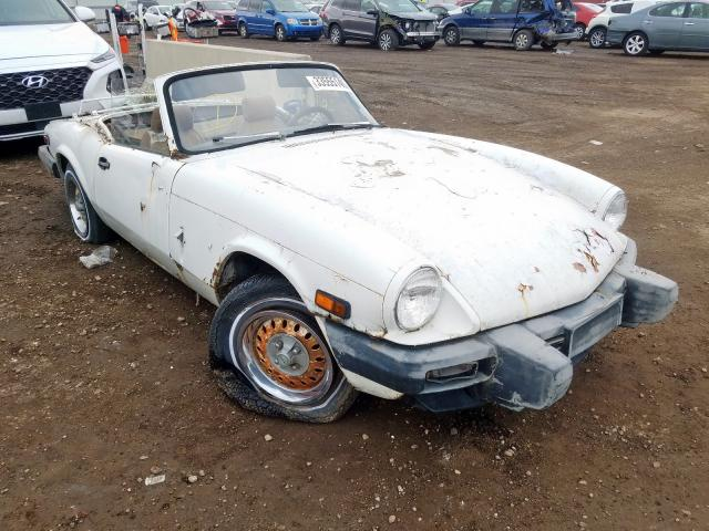 Triumph Spitfire salvage cars for sale: 1979 Triumph Spitfire