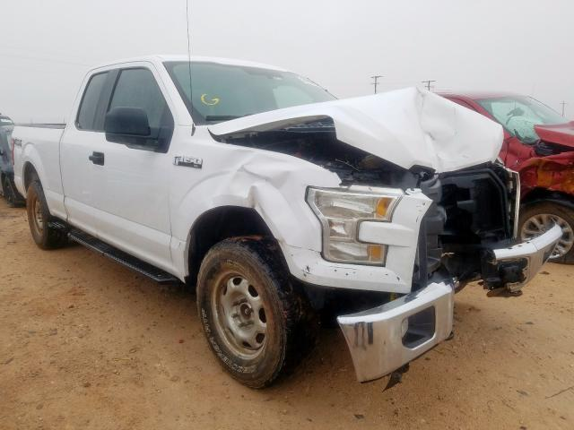 Salvage cars for sale from Copart Andrews, TX: 2015 Ford F150 Super