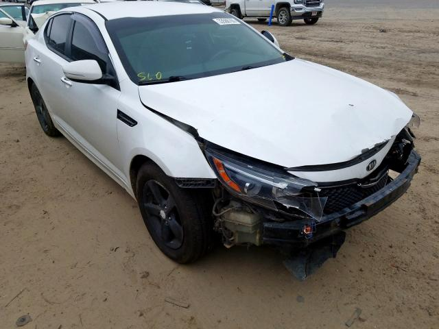 KIA salvage cars for sale: 2015 KIA Optima LX
