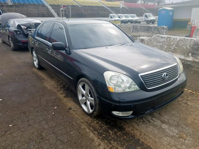 Salvage cars for sale from Copart Concord, NC: 2001 Lexus LS 430