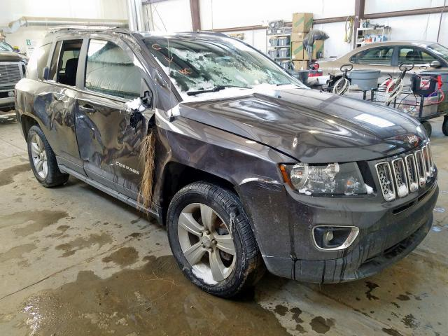 Salvage cars for sale from Copart Nisku, AB: 2017 Jeep Compass SP
