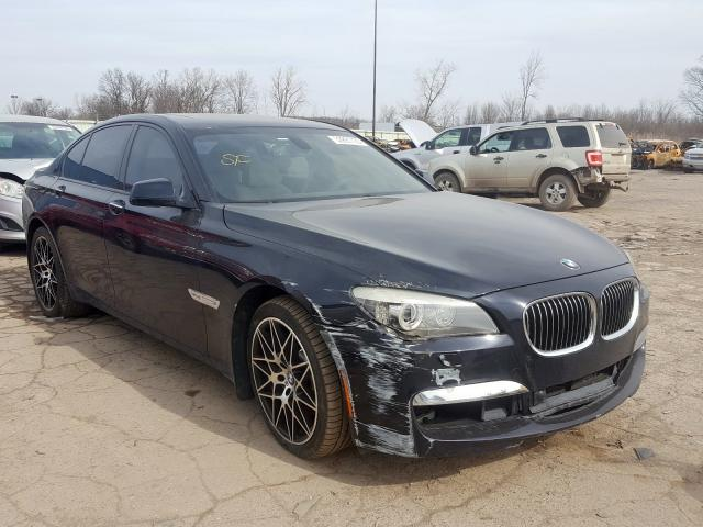 BMW 750 I Xdrive salvage cars for sale: 2010 BMW 750 I Xdrive