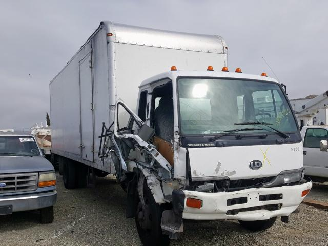 Salvage cars for sale from Copart Vallejo, CA: 2004 Nissan Diesel UD2600