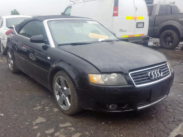 Audi A4 S-Line salvage cars for sale: 2006 Audi A4 S-Line