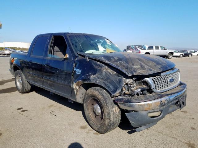 Salvage cars for sale from Copart Martinez, CA: 2003 Ford F150 Super