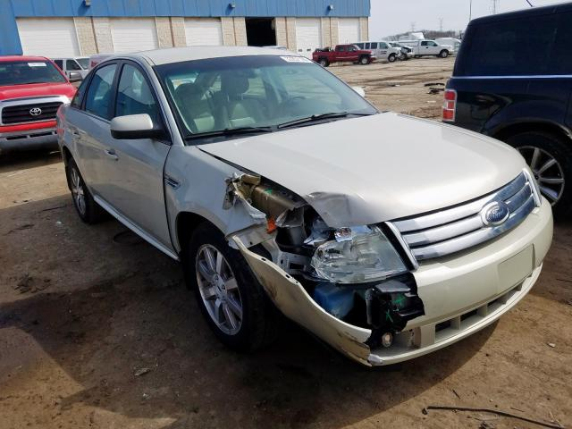 Salvage cars for sale from Copart Woodhaven, MI: 2008 Ford Taurus SEL
