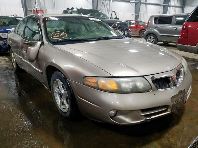 Pontiac Bonneville salvage cars for sale: 2002 Pontiac Bonneville