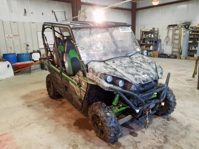 Kawasaki KRT800 C salvage cars for sale: 2018 Kawasaki KRT800 C