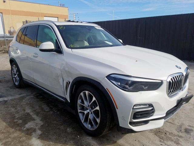 Salvage 2020 BMW X5 XDRIVE4 for sale