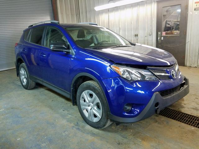 Salvage cars for sale from Copart Fort Wayne, IN: 2015 Toyota Rav4 LE