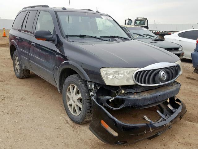 Buick Rainier CX salvage cars for sale: 2004 Buick Rainier CX
