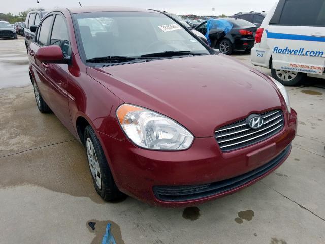 Salvage cars for sale at Grand Prairie, TX auction: 2010 Hyundai Accent GLS
