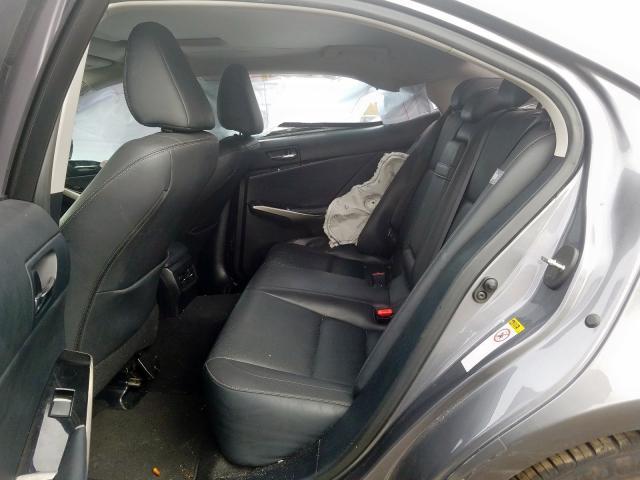 2016 LEXUS IS 200T - Interior View