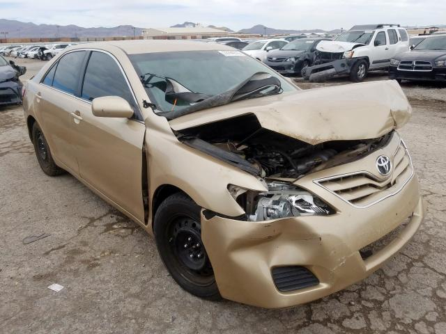 Salvage Title 2010 Toyota Camry Sedan 4d 2 5l For Sale In Las