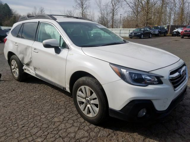 Salvage cars for sale from Copart Portland, OR: 2018 Subaru Outback 2