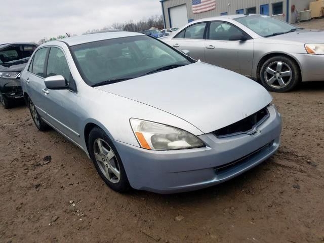 Honda Accord Hybrid salvage cars for sale: 2005 Honda Accord Hybrid