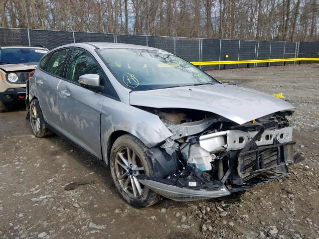 Salvage cars for sale from Copart Waldorf, MD: 2017 Ford Focus SE