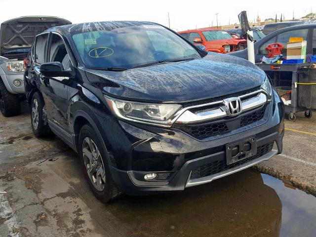 Honda CR-V EXL salvage cars for sale: 2017 Honda CR-V EXL