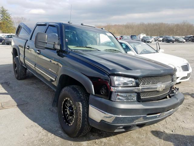 Salvage cars for sale from Copart Grantville, PA: 2003 Chevrolet Silverado