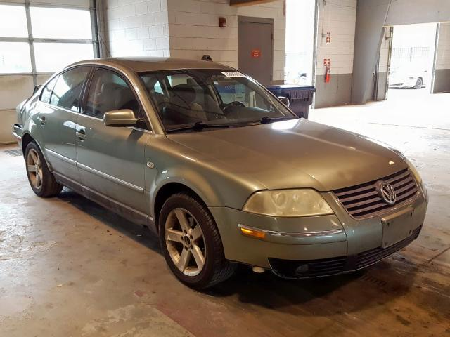Salvage cars for sale from Copart Sandston, VA: 2004 Volkswagen Passat GLX