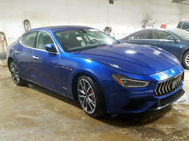 Maserati Ghibli S salvage cars for sale: 2019 Maserati Ghibli S