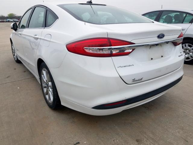 2017 FORD FUSION SE - Right Front View