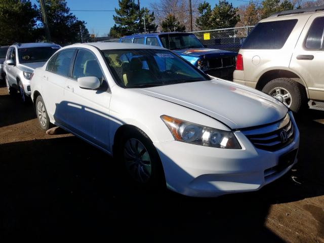 Honda Accord LX salvage cars for sale: 2012 Honda Accord LX