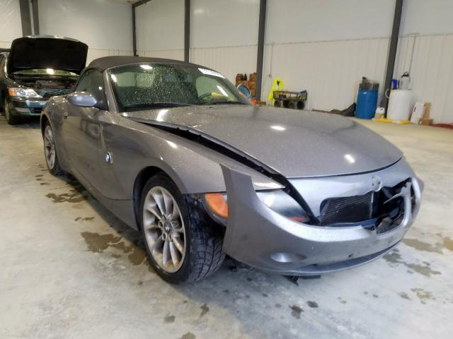 BMW salvage cars for sale: 2003 BMW Z4 2.5