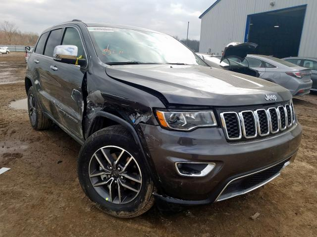 Jeep Grand Cherokee salvage cars for sale: 2020 Jeep Grand Cherokee