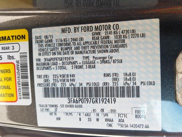 Купить Ford Fusion 2016 г. из США с доставкой и растаможкой под ключ.