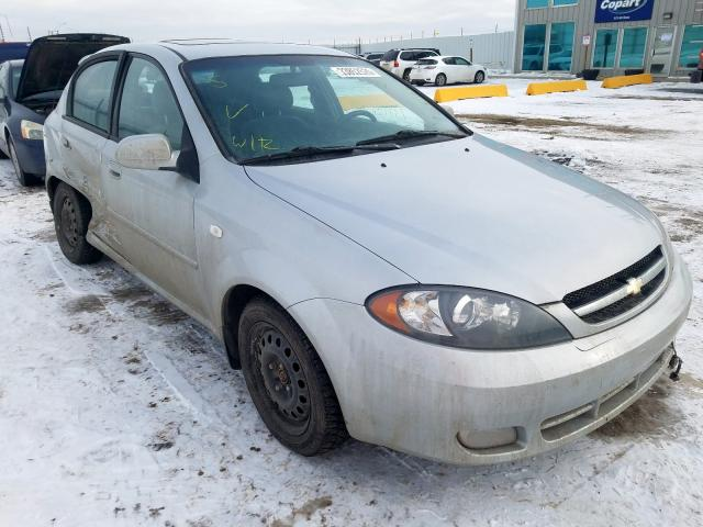 Chevrolet salvage cars for sale: 2005 Chevrolet Optra 5 LS