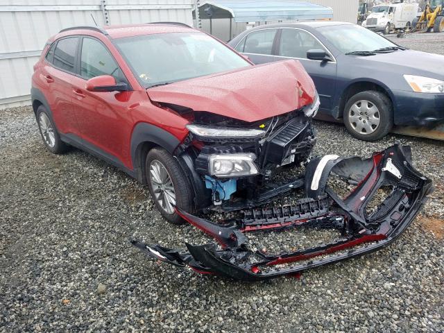Salvage 2020 Hyundai KONA SEL for sale